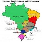 mapa do brasil paranaenses