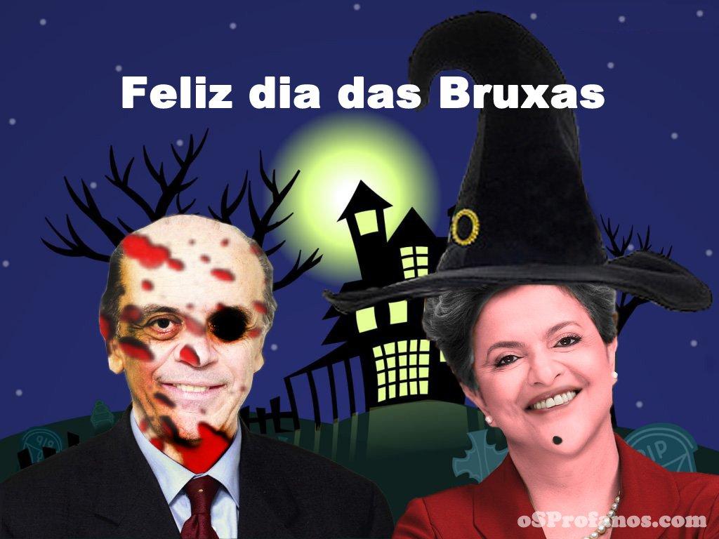 Feliz dia das Bruxas
