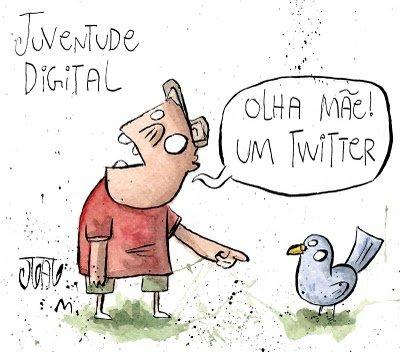 Olha mãe, um twitter!