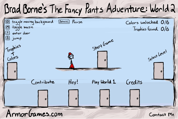 The Fancy Pants Adventure – Jogo da semana