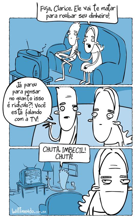Conversando com a TV