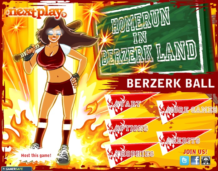 [Jogo da Semana] Homerun In Berzerk Land – Berzerk Ball Game