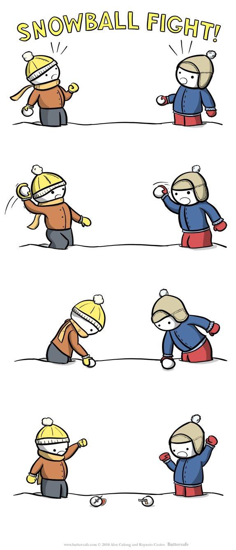 Guerra de Bola de Neve