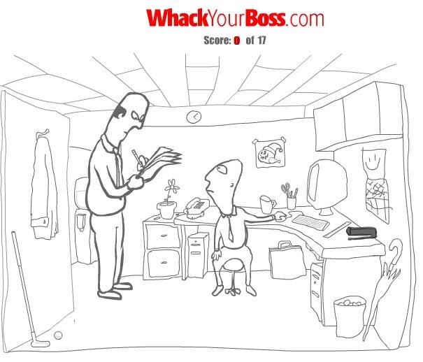 Whack Your Boss – Jogo da Semana