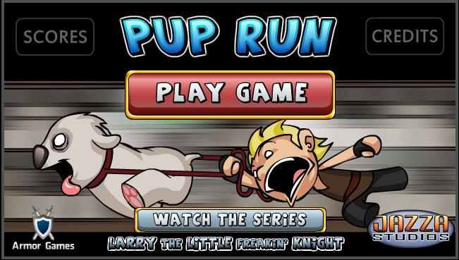 Larry Pup Run – Jogo da Semana