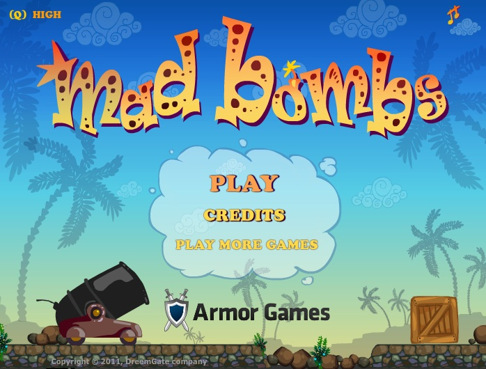mad bombs jogo da semana