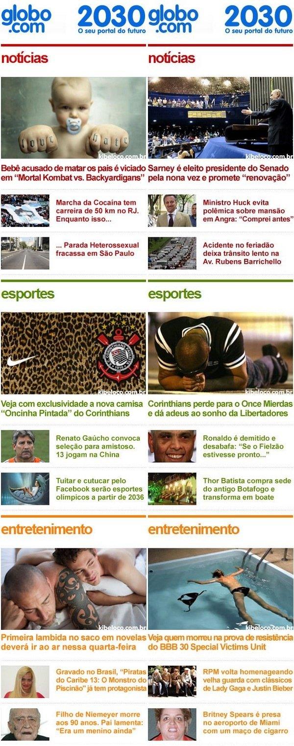 Como será o Globo.com em 2030