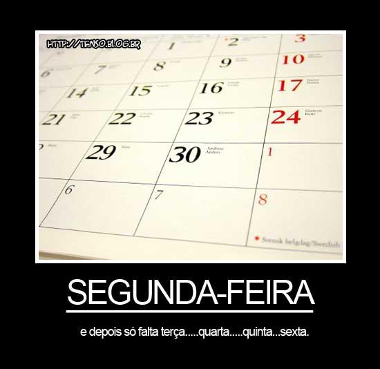 segunda calendario