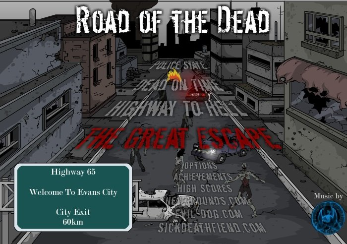 Road of the dead – Jogo da semana