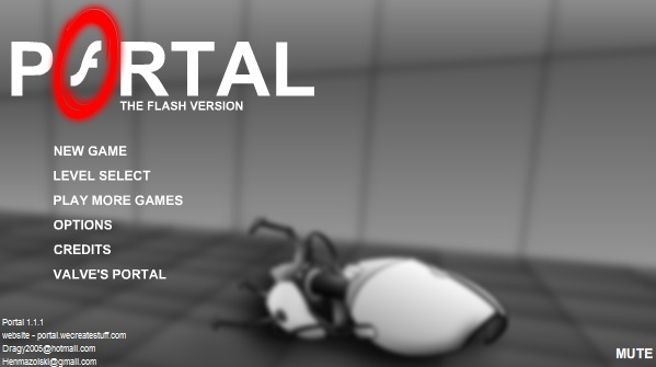 Portal: the flash version – Jogo da semana