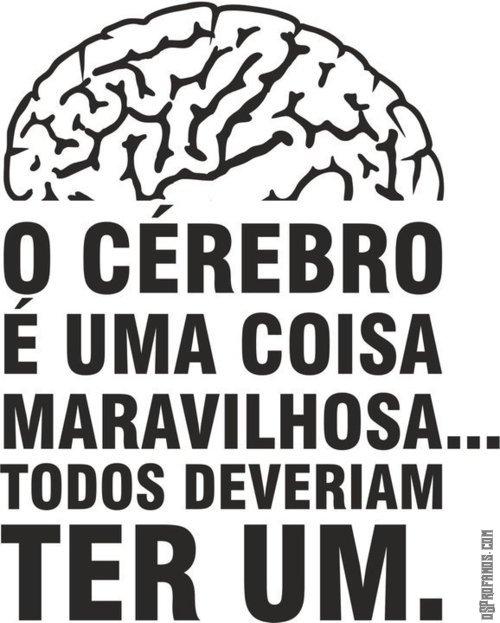 Todos deveriam ter um cerebro