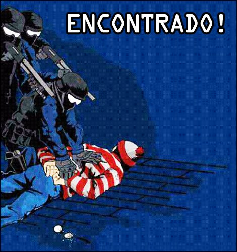 O Wally foi encontrado!
