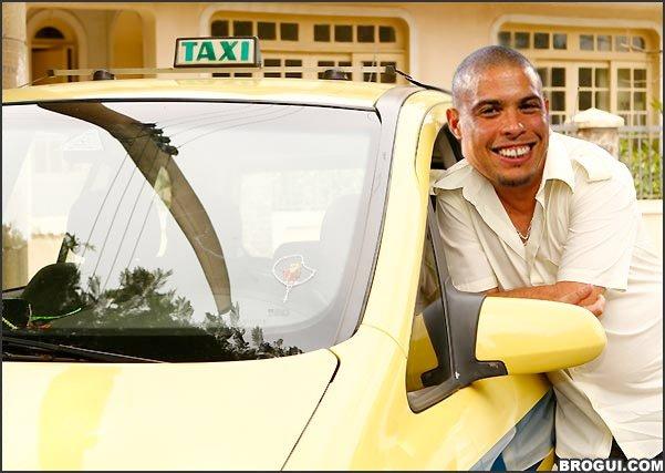 Ronaldo tem cara de taxista