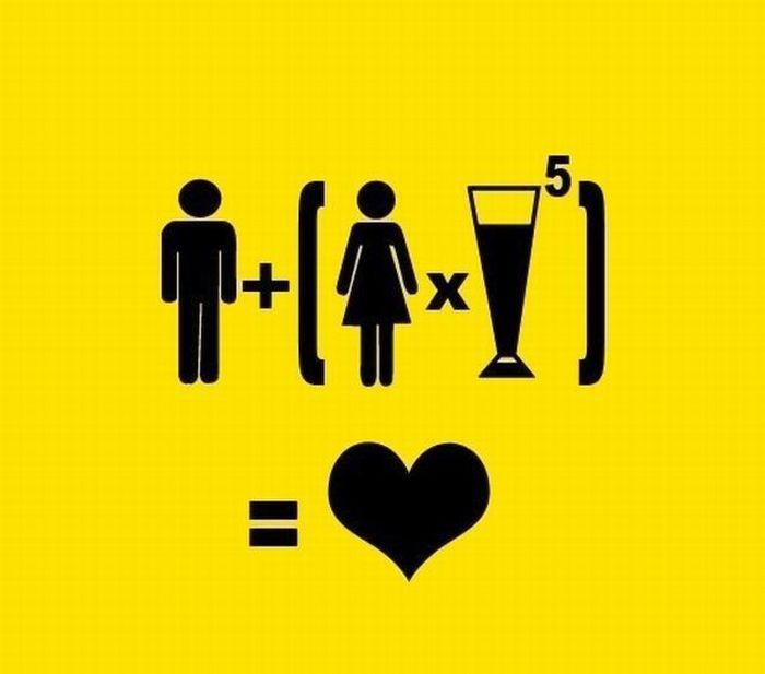 A matematica do amor