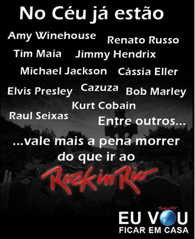 Rock in Rio: Pra que?