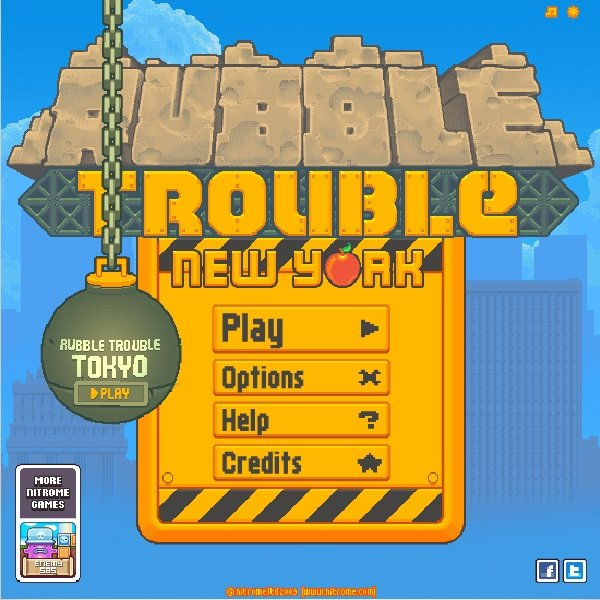 Rubble trouble – Jogo da semana