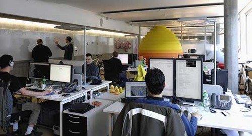Escritórios e seus funcionários - google
