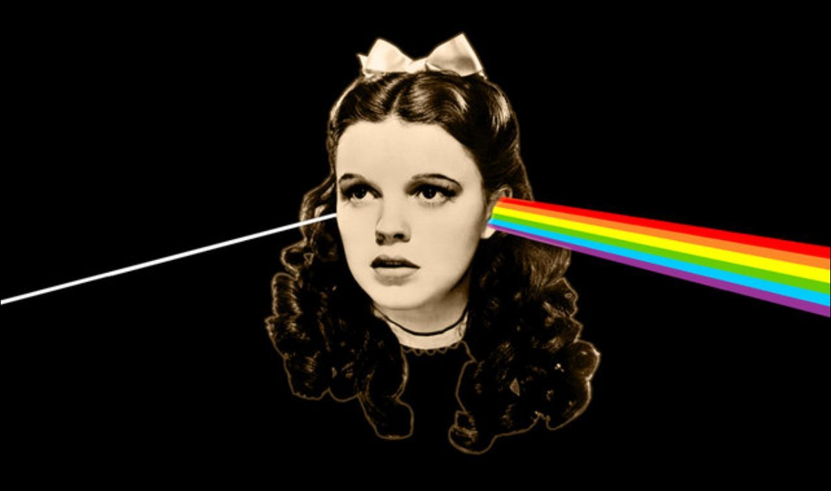 Pink Floyd e O magico de Oz – Dark side of the moon rainbow
