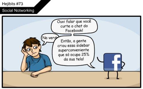 O final do facebook