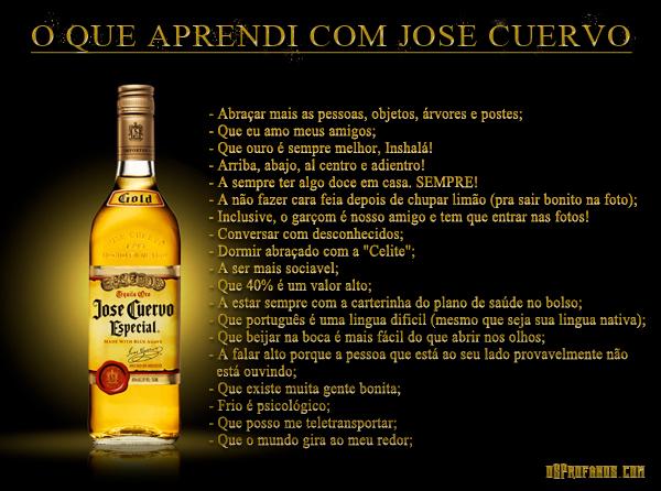 O que aprendi com José Cuervo