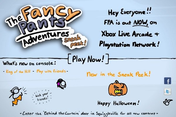 Fancy Pants Adventures 3 – Jogo da semana