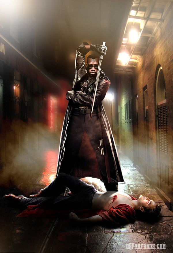Blade vs Edward Cullen