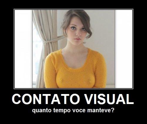 contato visual