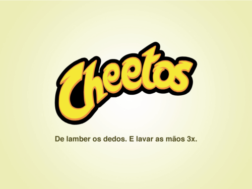 Slogans Sinceros - cheetos
