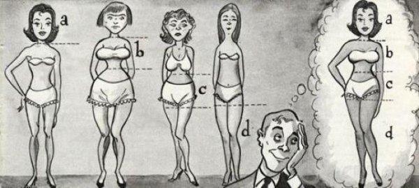 como seria a mulher perfeita