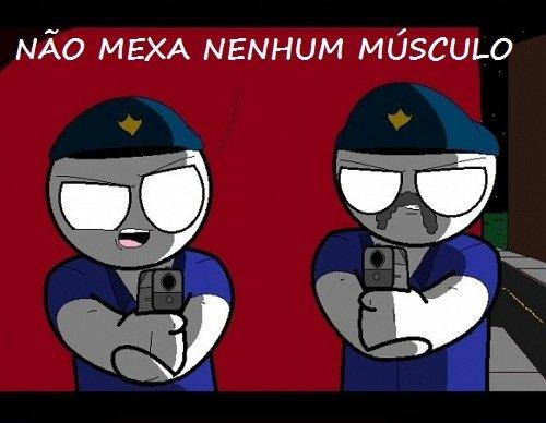 Não mexa um músculo!