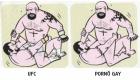 A diferença entre UFC e Pornô gay