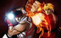 Ken querendo ser o Ryu