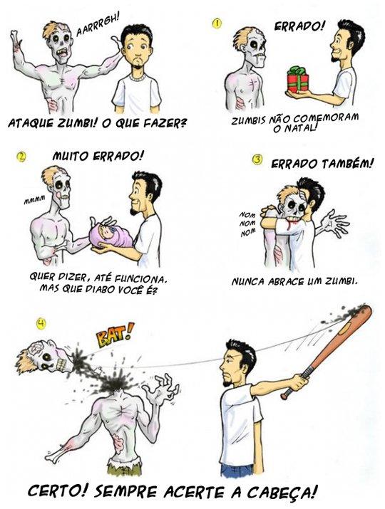 O que fazer em um ataque zumbi