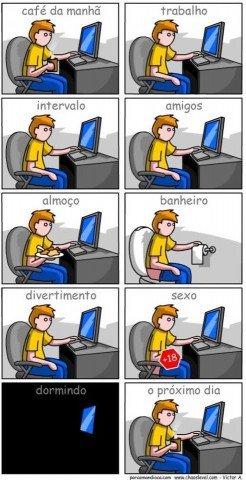 A vida de um blogueiro