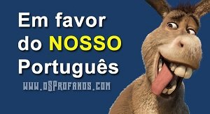 Em favor do nosso português