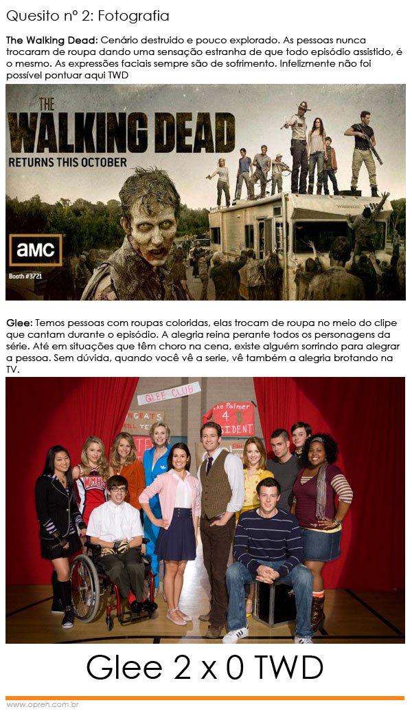 Glee x The Walking Dead