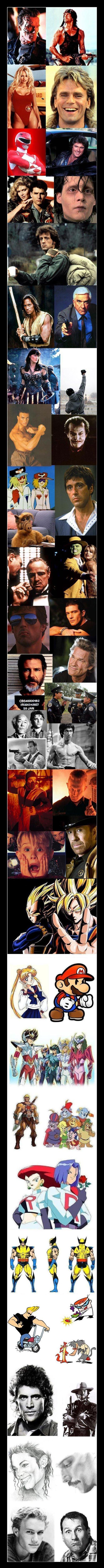 Voce conhece todos esses personagens