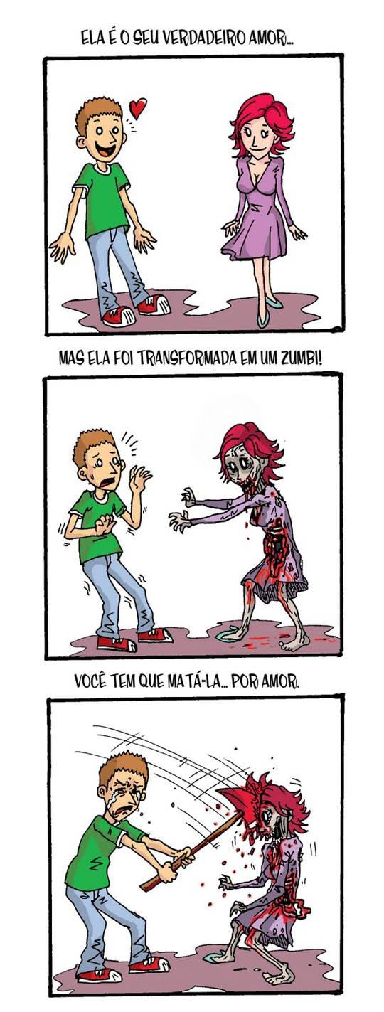 O verdadeiro amor-vampiro