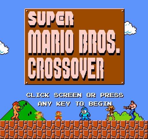 Super Mario Bros crossover 2.0 – Jogo da semana