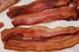 Será que eu devo comer bacon?