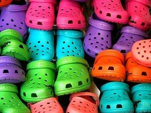 O que você faria se seu filho usasse crocs?