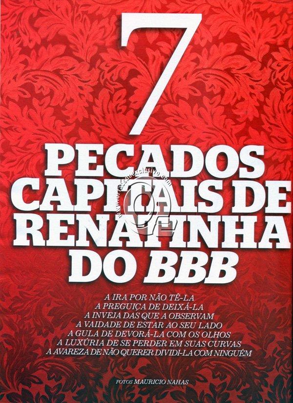 Fotos Renata BBB pelada