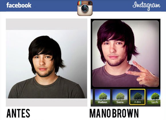 Filtros do Instagram para usar no Facebook