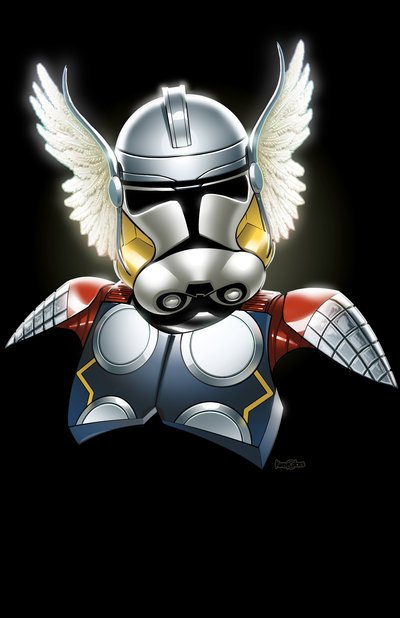 thor--super-herois-uniforme-Stormtroopers