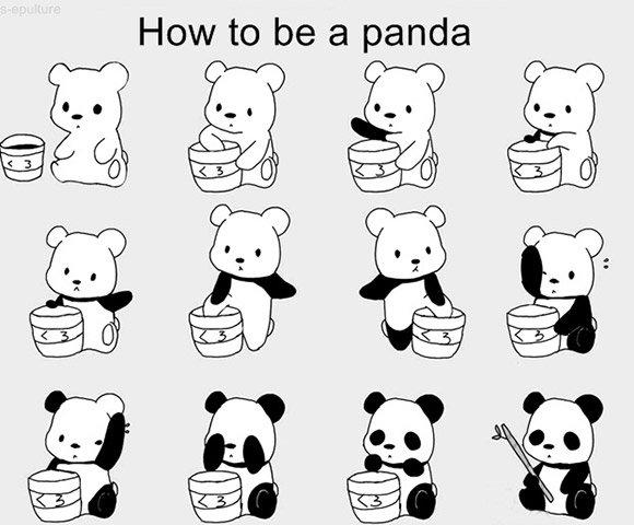 Tutorial de Como ser um Panda – LEVEL 1.