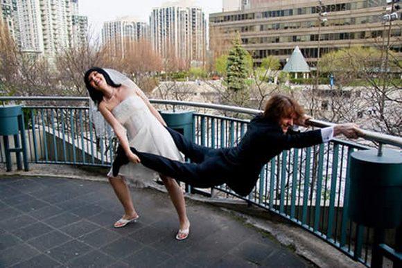 Casamentos engraçados