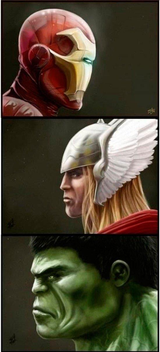 Vilões x Super Heróis
