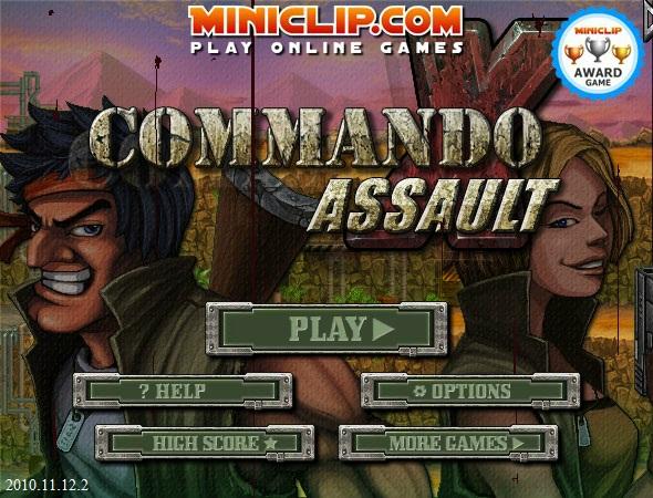 Commando Assault – Jogo da semana