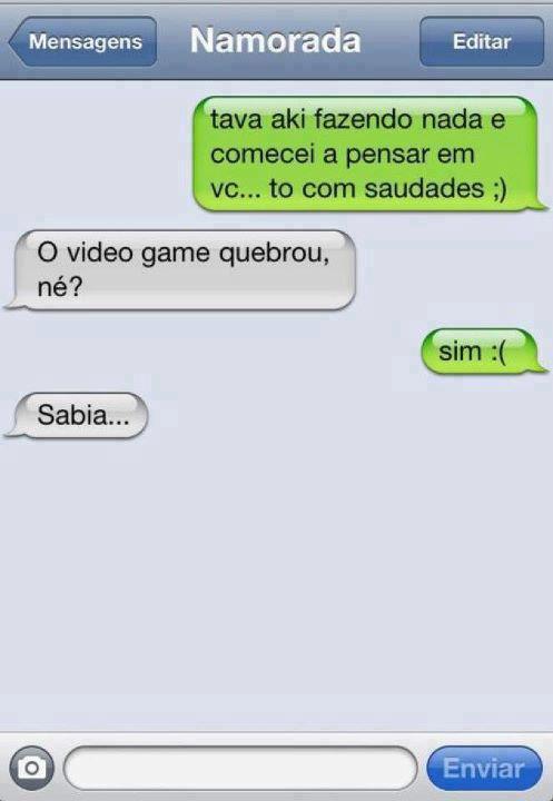 SMS da saudade