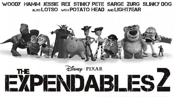 Se Os Mercenários 2 fosse feito pela Pixar